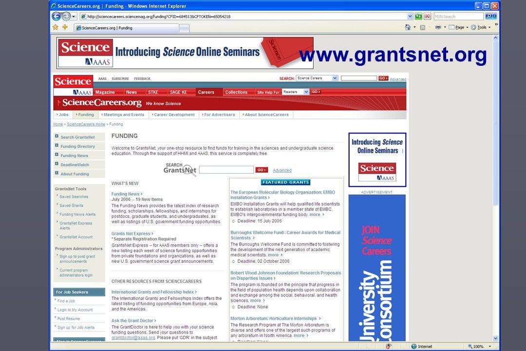 www.grantsnet.org