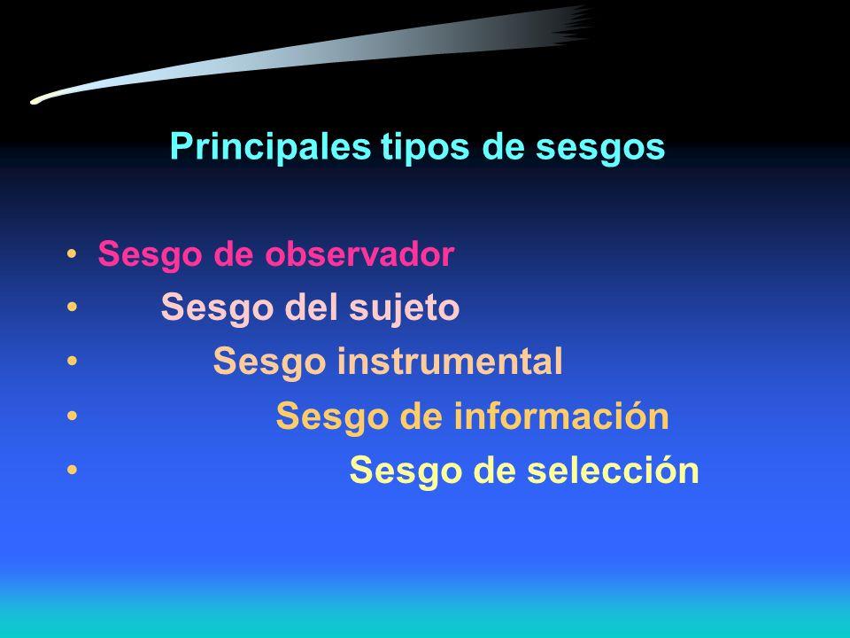 Estrategias para aumentar seguridad 1. Estandarización de métodos de medición 2. Entrenamiento y certificación de los observadores 3. Refinación de in