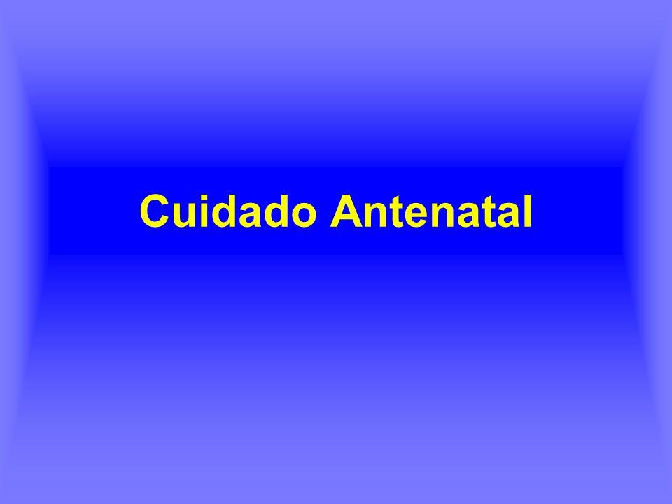 Cuidado Antenatal