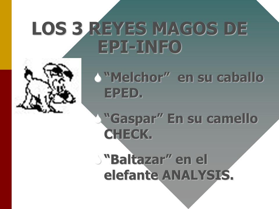 Dr. Agustin Rico Guzman24 la MAGIA La magia de Epi-Info Radica en 3 partesLa magia de Epi-Info Radica en 3 partes SEl diseño de las bases de datos. SL