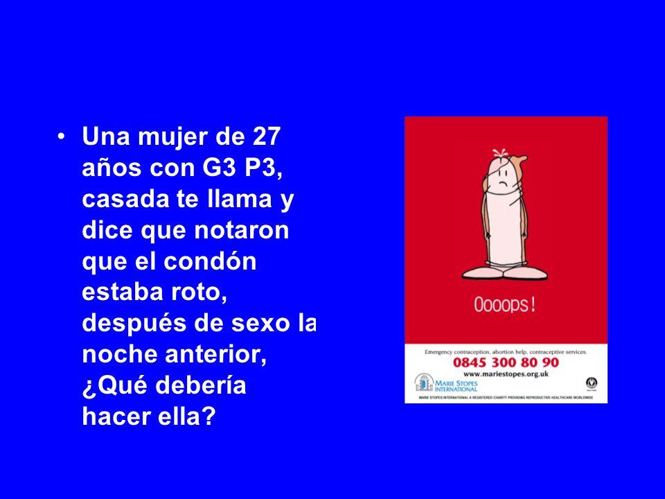 von Hertzen et al, Lancet, 2002, Ellertson et al, Obstet Gynecol, 2003 ¿Qué tanto después de la mañana siguiente.