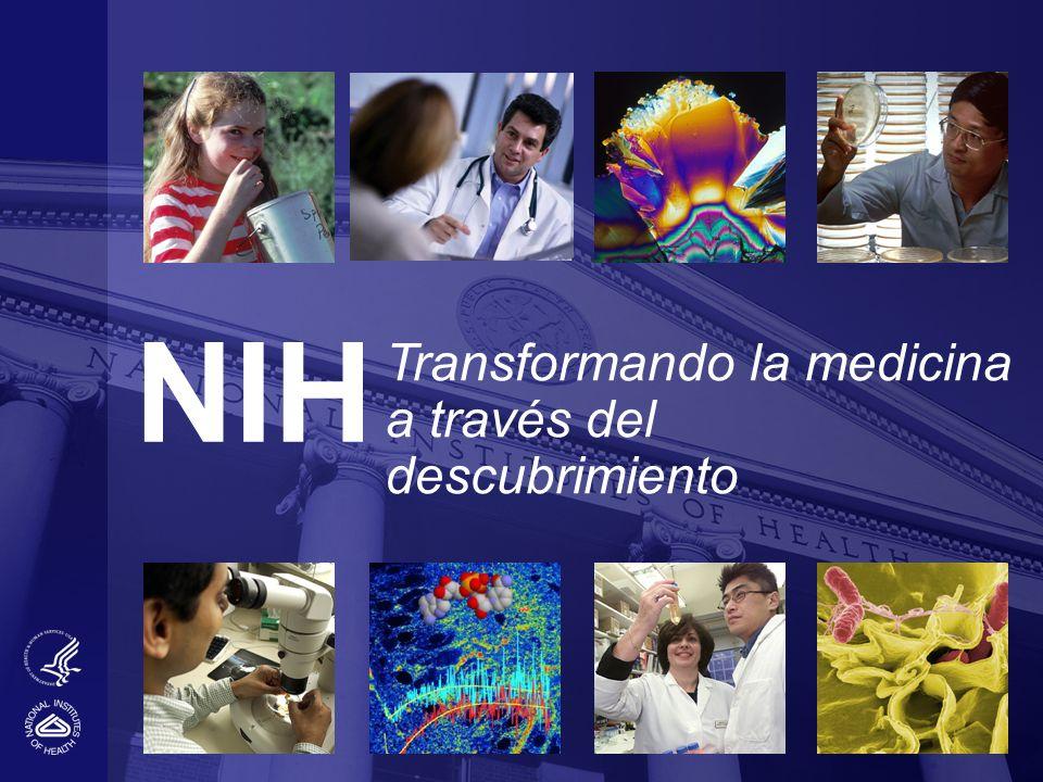 NIH Transformando la medicina a través del descubrimiento