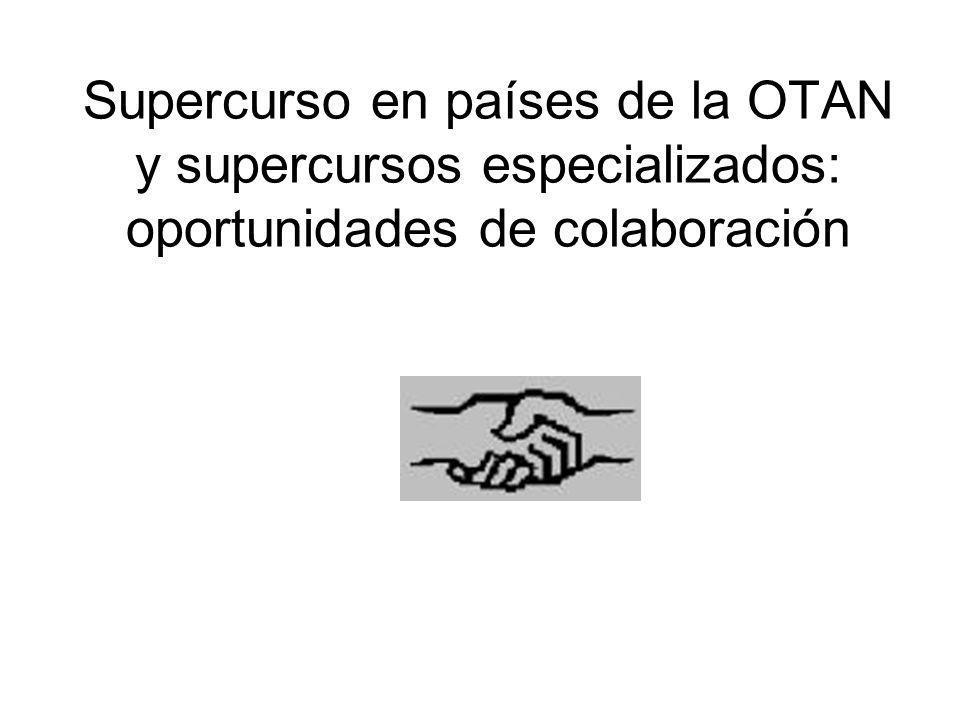 Supercurso en países de la OTAN y supercursos especializados: oportunidades de colaboración