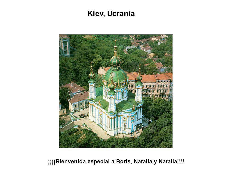 Kiev, Ucrania ¡¡¡¡Bienvenida especial a Boris, Natalia y Natalia!!!!