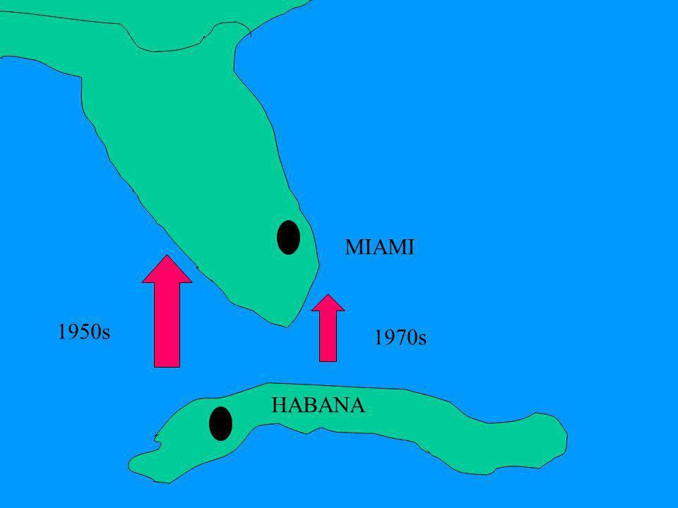 MIAMI HABANA 1970s 1950s