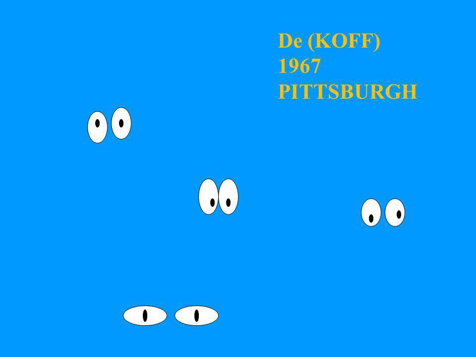 De (KOFF) 1967 PITTSBURGH