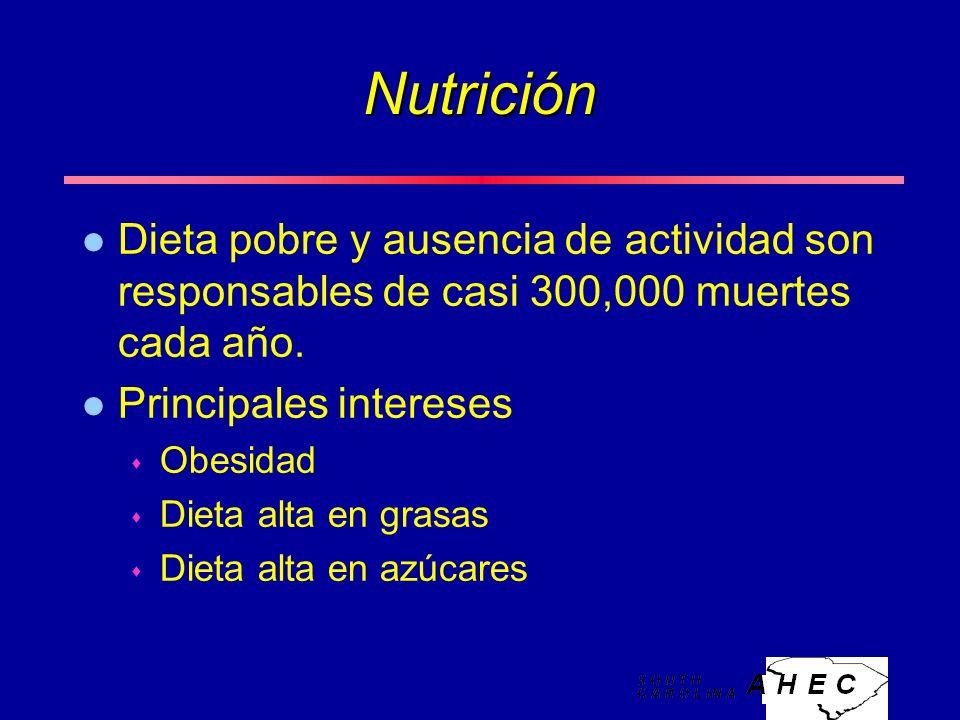 Nutrición l Dieta pobre y ausencia de actividad son responsables de casi 300,000 muertes cada año.