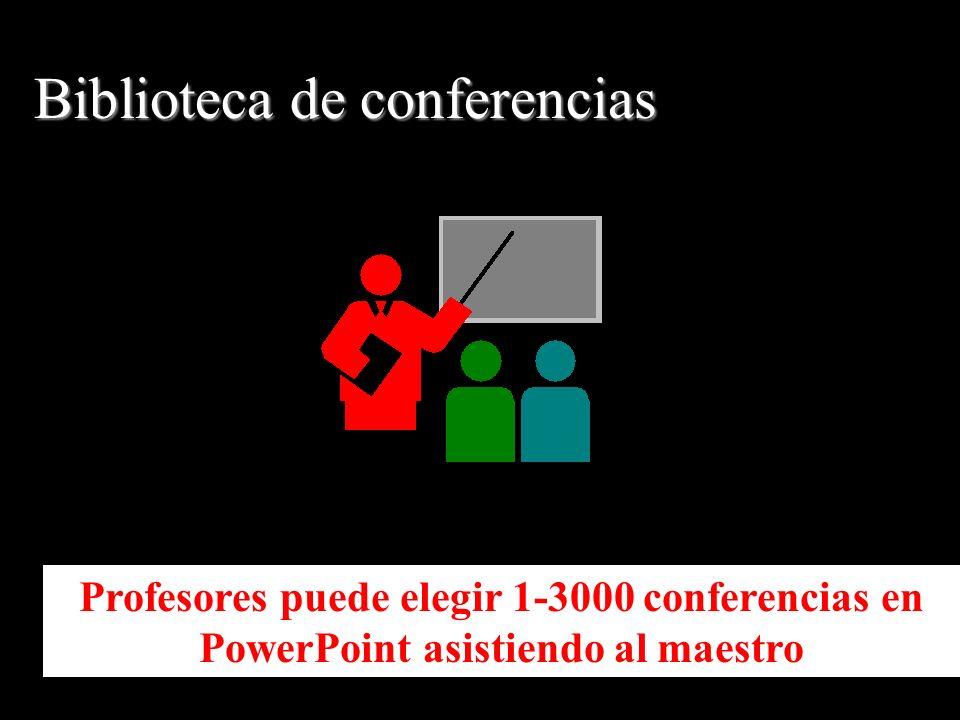 Profesores puede elegir 1-3000 conferencias en PowerPoint asistiendo al maestro Biblioteca de conferencias