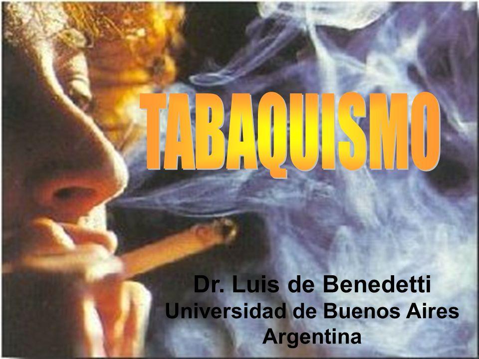 Fumar cigarrillos y otros productos del tabaco es la causa previsible más importante de enfermedad y muerte en los países civilizados.