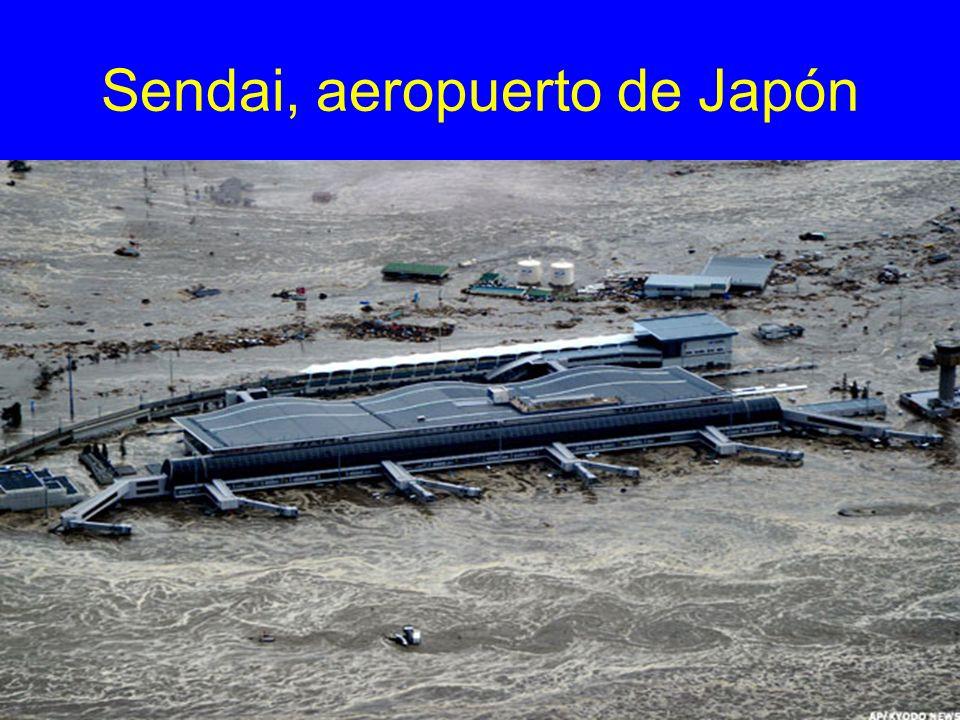 Sendai, aeropuerto de Japón