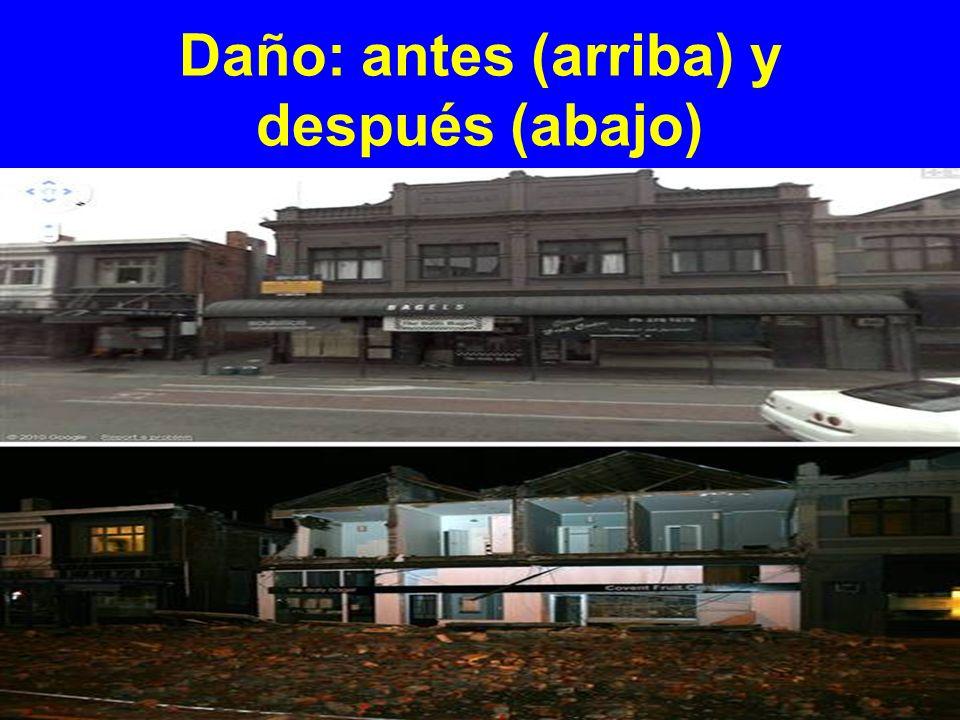 Daño: Edificios URM
