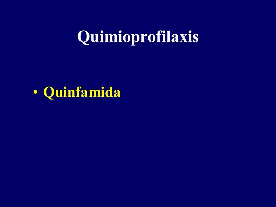 Quimioprofilaxis Quinfamida