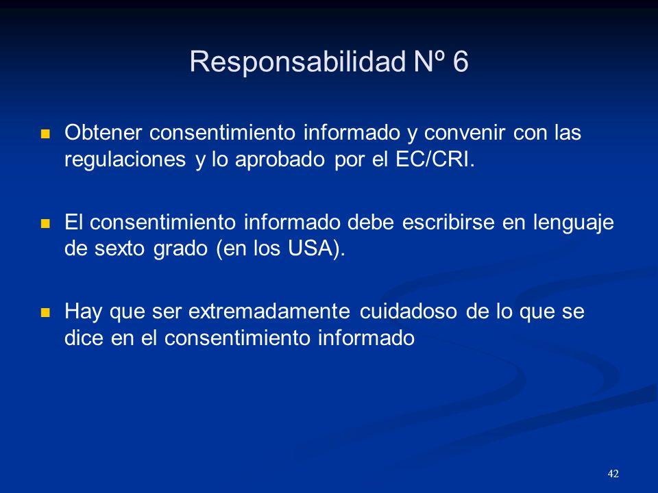 43 Relatos de algunos consentimientos informados..