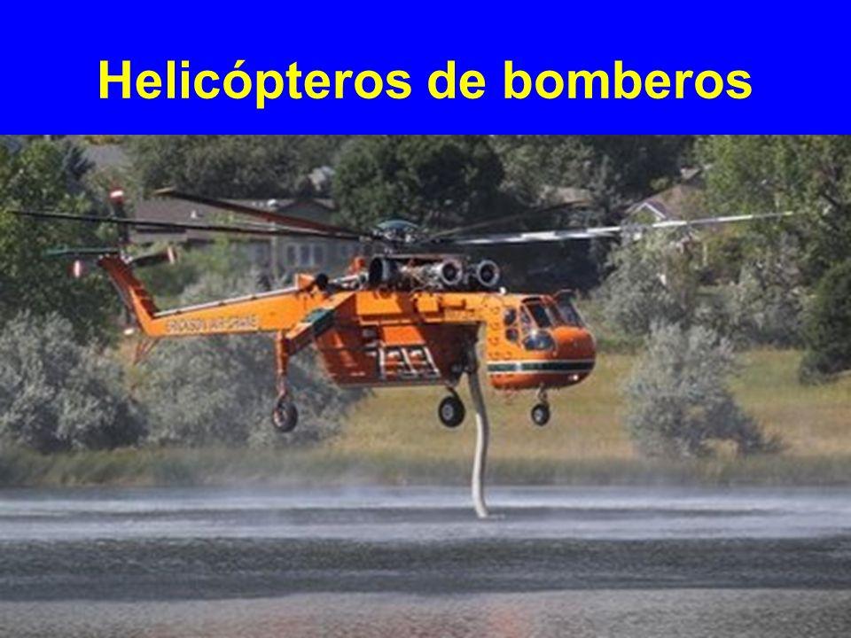 Helicópteros de bomberos