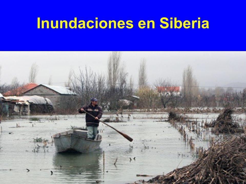 Inundación en Kazakstán
