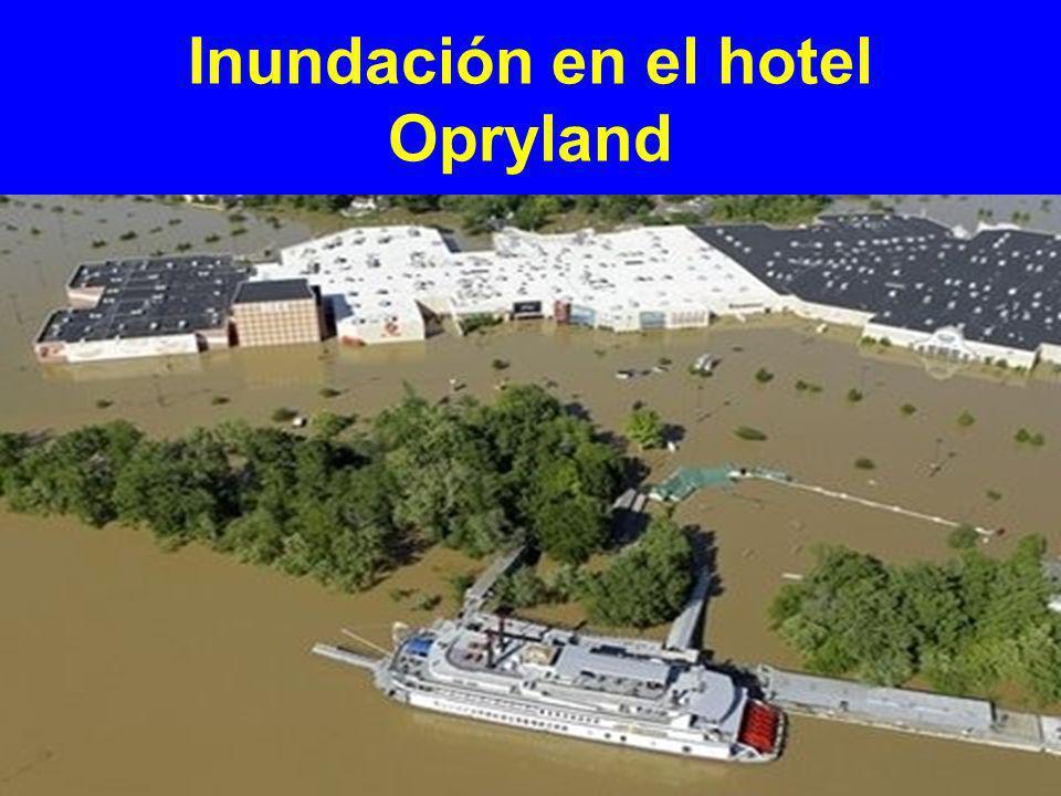Evacuación del hotel Opryland