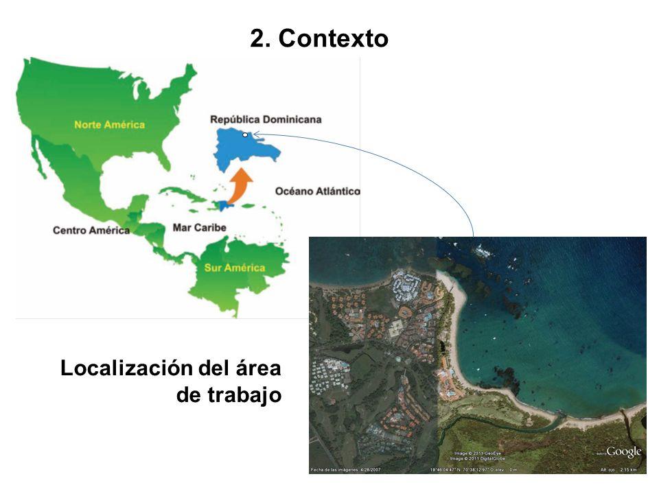 Mapa de localización de República Dominicana y de Puerto Plata.