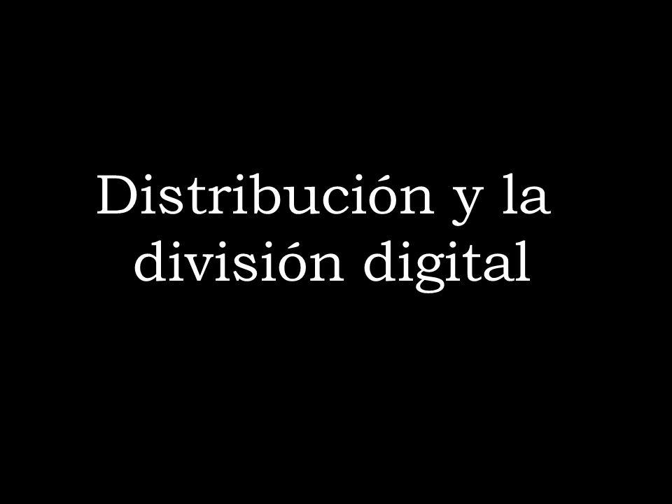 Distribución y la división digital