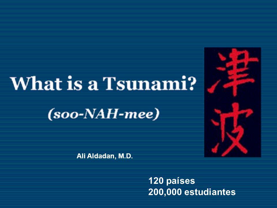 Ali Aldadan, M.D. 120 países 200,000 estudiantes