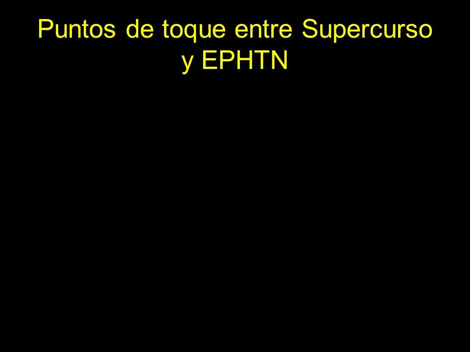 Puntos de toque entre Supercurso y EPHTN
