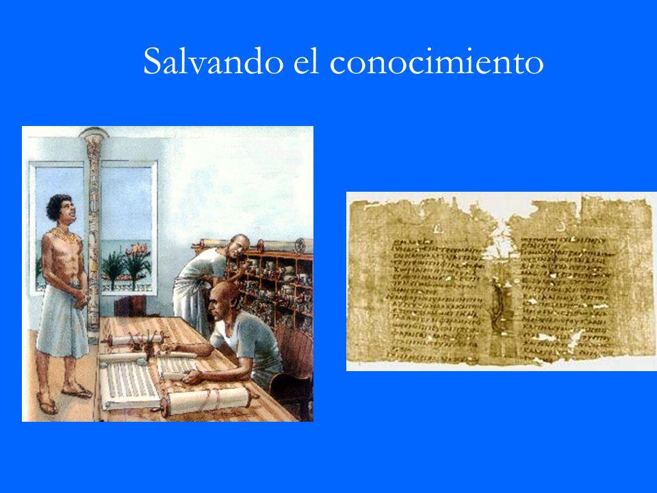 Salvando el conocimiento