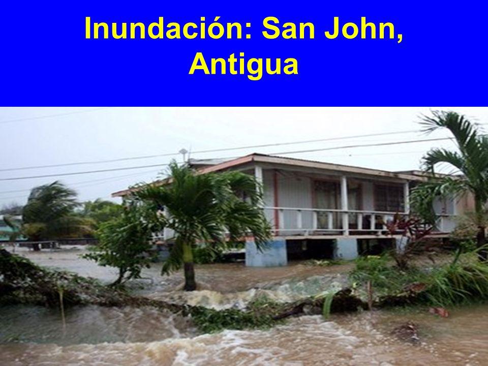 Inundación: San John, Antigua