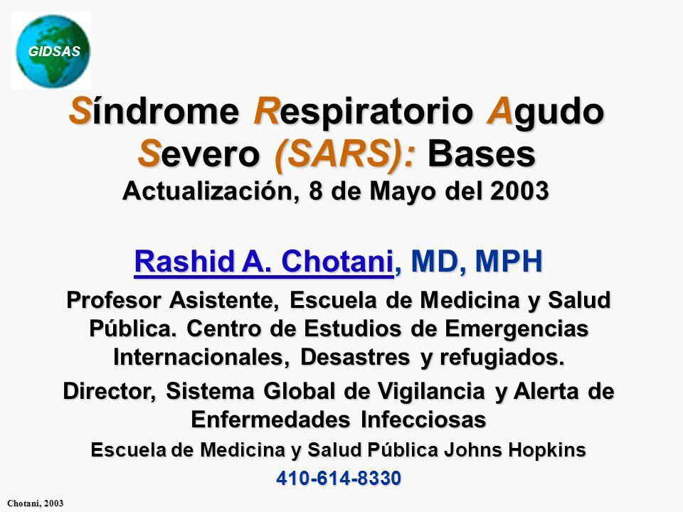GIDSAS Chotani, 2003 Panorama Esta conferencia está dividida en cinco secciones y será actualizada semanalmente cuando nuevos eventos ocurran.