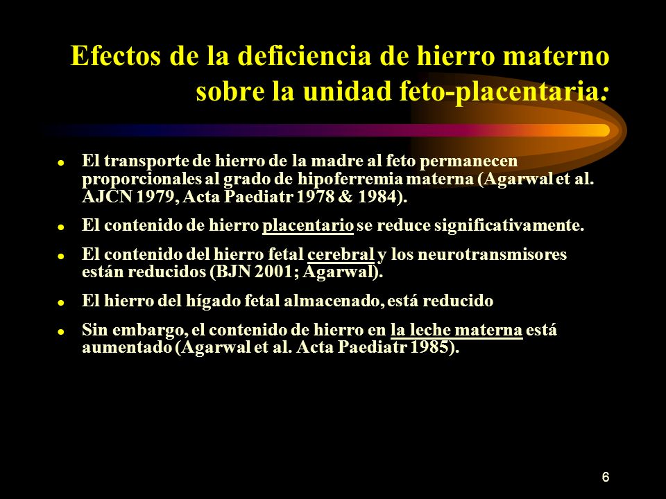 17 Cont … Índice TfR – razón de sTfR al log de ferritina, valor >1.5 deficiencia de hierro; <1.5 anemia enfermedades cróncas anémicas.