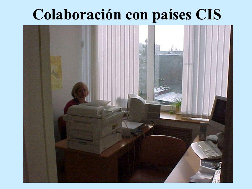 Colaboración con países CIS