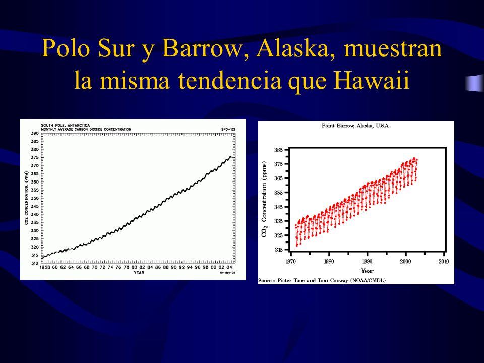 No todos están convencidos de la teoría de gases invernadero-calentamiento global Al momento, parece que el calentamiento es real – la temperatura de la superficie está más alta en las últimas décadas.