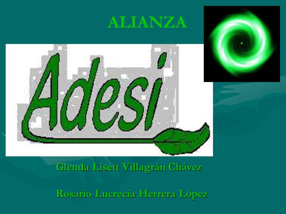 Glenda Lisett Villagrán Chávez Rosario Lucrecia Herrera López ALIANZA
