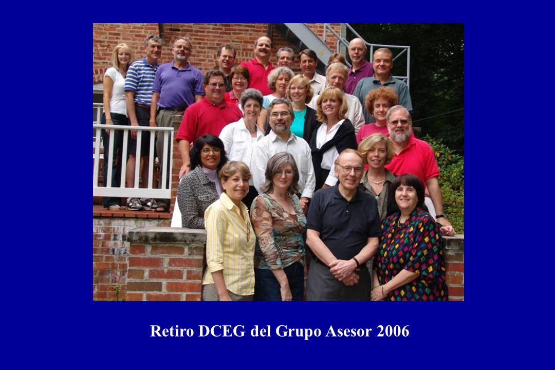 Retiro DCEG del Grupo Asesor 2006