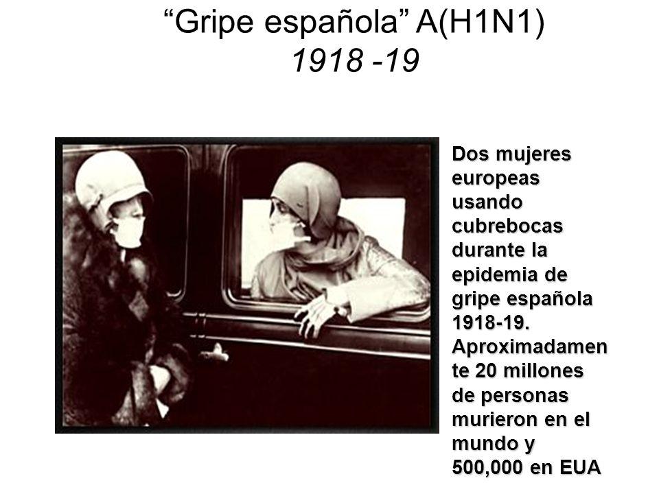 La gran pandemia de 1918