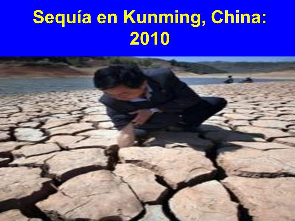 Sequía en Kunming, China: 2010
