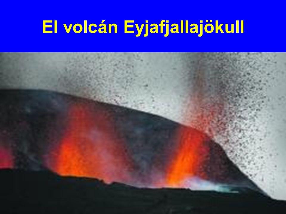 El volcán Eyjafjallajökull