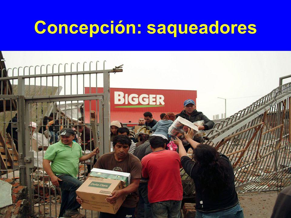 Concepción: saqueadores