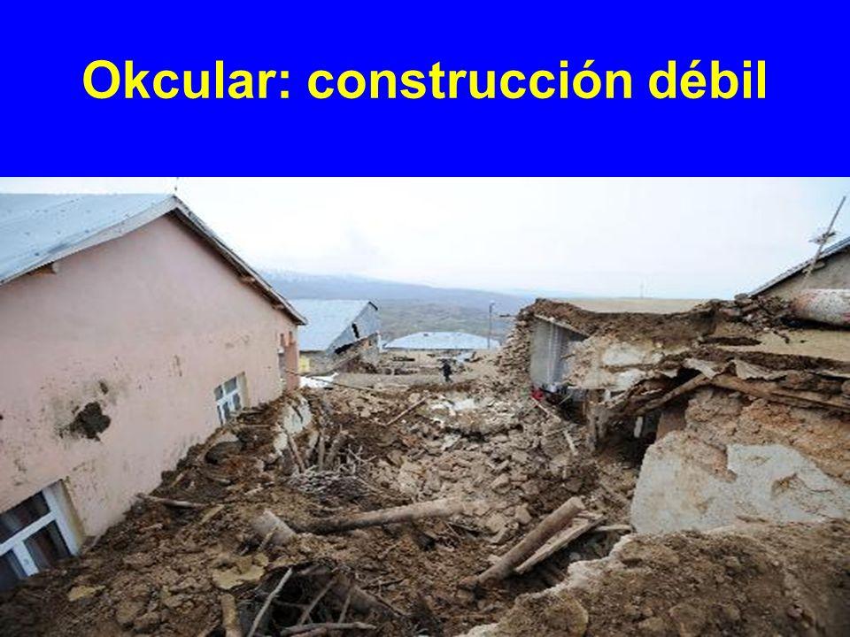 Okcular: construcción débil