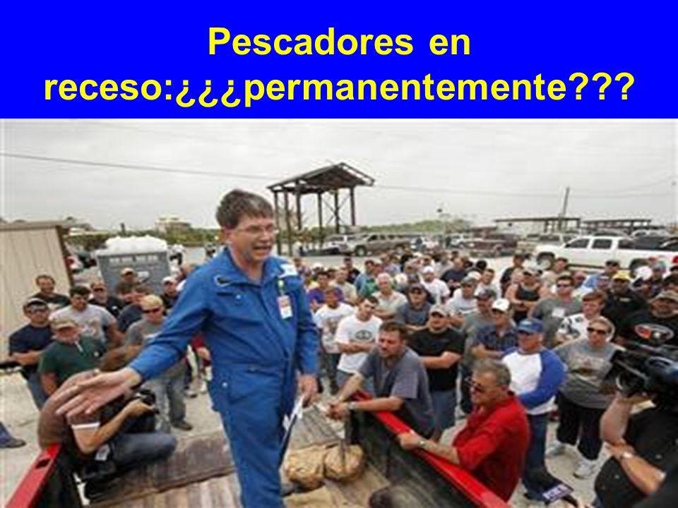 Pescadores en receso:¿¿¿permanentemente???