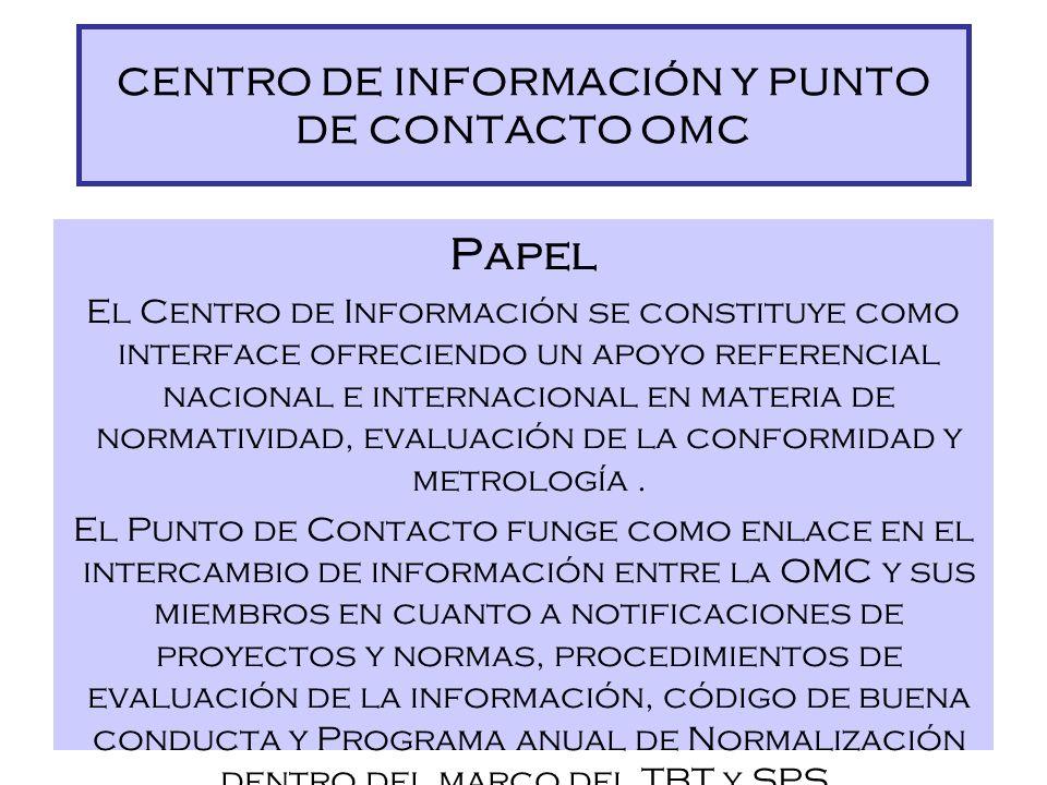 Importancia de la información como materia prima imprescindible Papel de un Centro de Información/ Punto de Contacto como proveedor, orientador y expa
