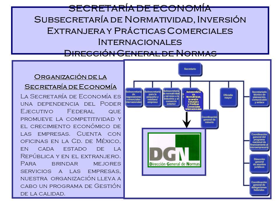 Origen El Centro de Información/ Punto de Contacto de la DGN surge como tal a raíz de la entrada de México a la OMC en 1994 (Ronda Uruguaya de Negocia