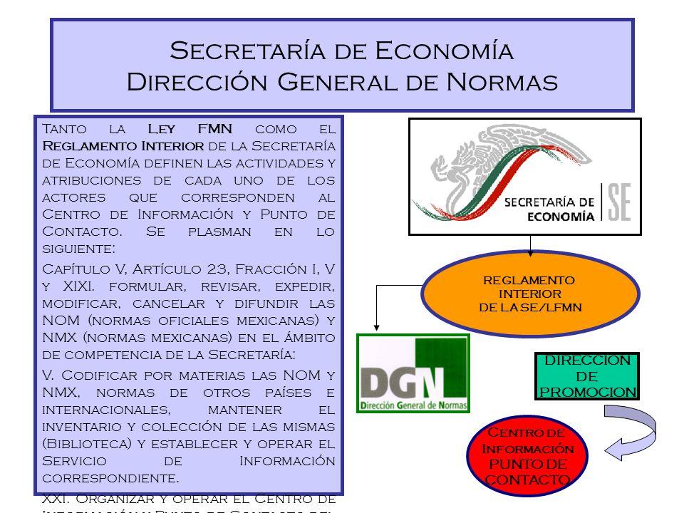 Dirección General de Normas Interacción con el Gobierno y la Industria Atribuciones de la DGN Coordinar el Sistema Nacional de Normalización y Evaluac