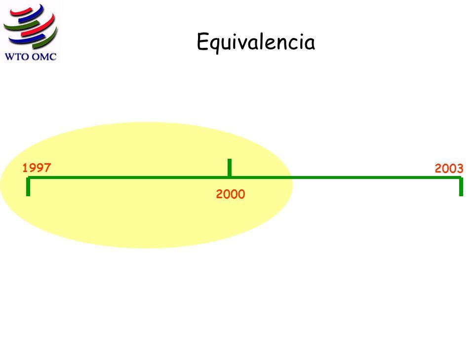 Equivalencia 1997 2000 2003