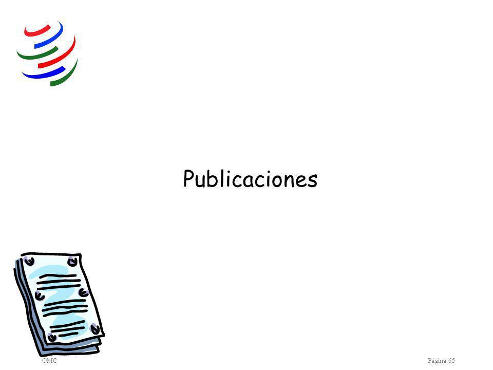 OMCPágina 65 Publicaciones