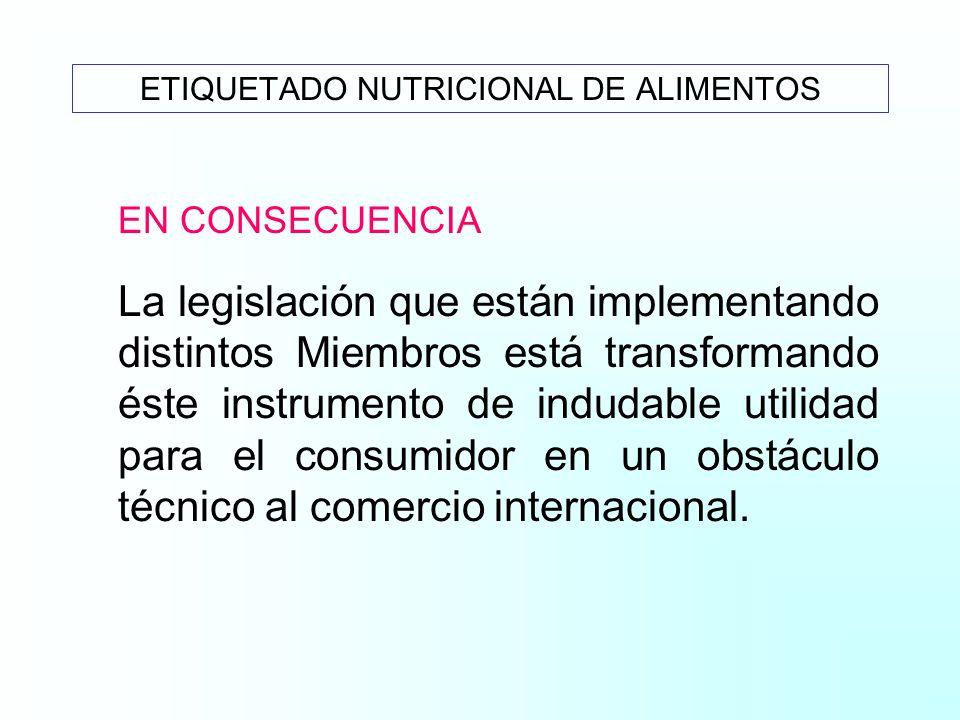 DECLARACIONES OBLIGATORIAS ROTULADO NUTRICIONAL ABCDE Energía total XXXXX Energía de grasas X Grasas Total XXXXX G. Saturadas XXXX Colesterol XX Carbo