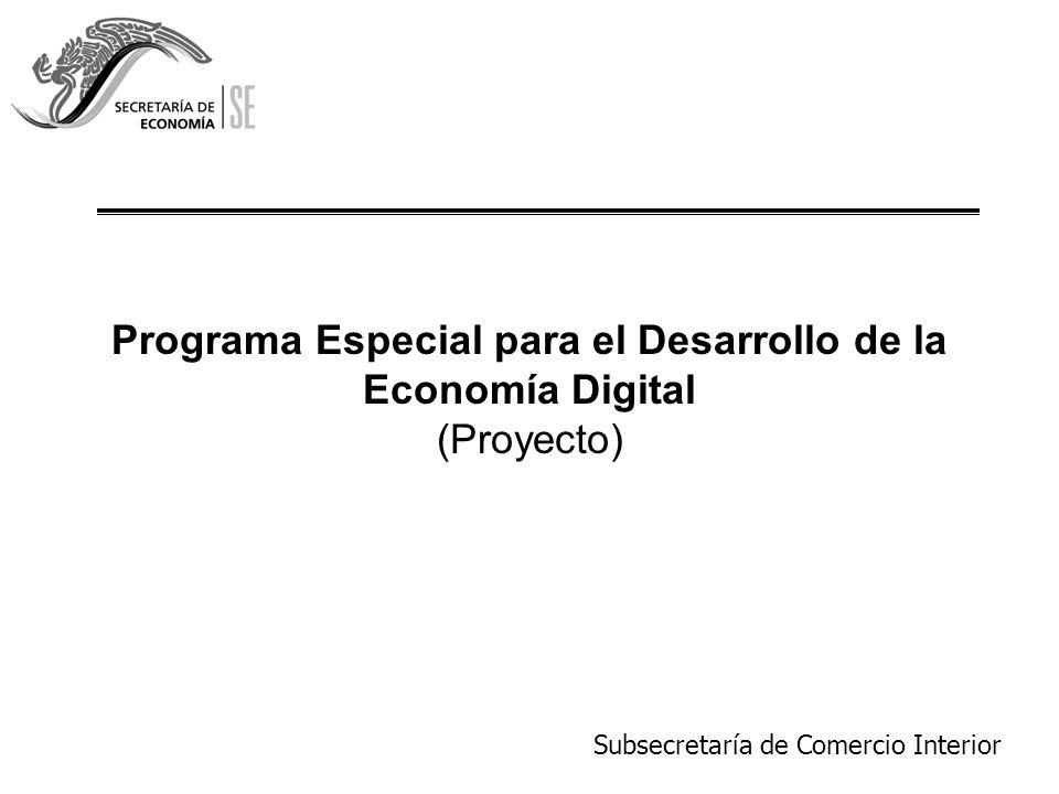 Subsecretaría de Comercio Interior 2 Antecedentes.