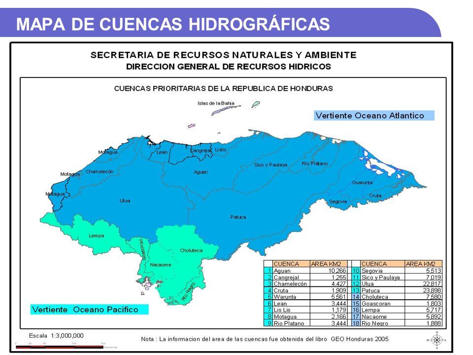 VERTIENTE ATLÁNTICA CuencaÁrea (Km2) Longitud (Km) Altura Max.