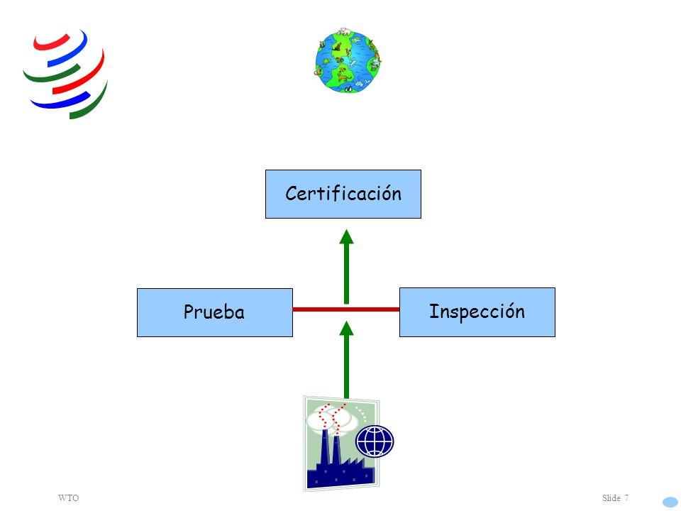 WTOSlide 7 Inspección Prueba Certificación