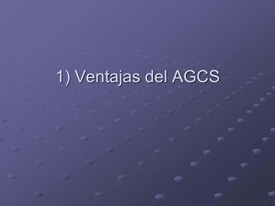1) Ventajas del AGCS