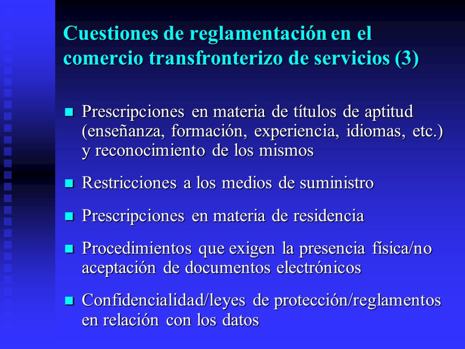 Prescripciones en materia de títulos de aptitud (enseñanza, formación, experiencia, idiomas, etc.) y reconocimiento de los mismos Prescripciones en ma