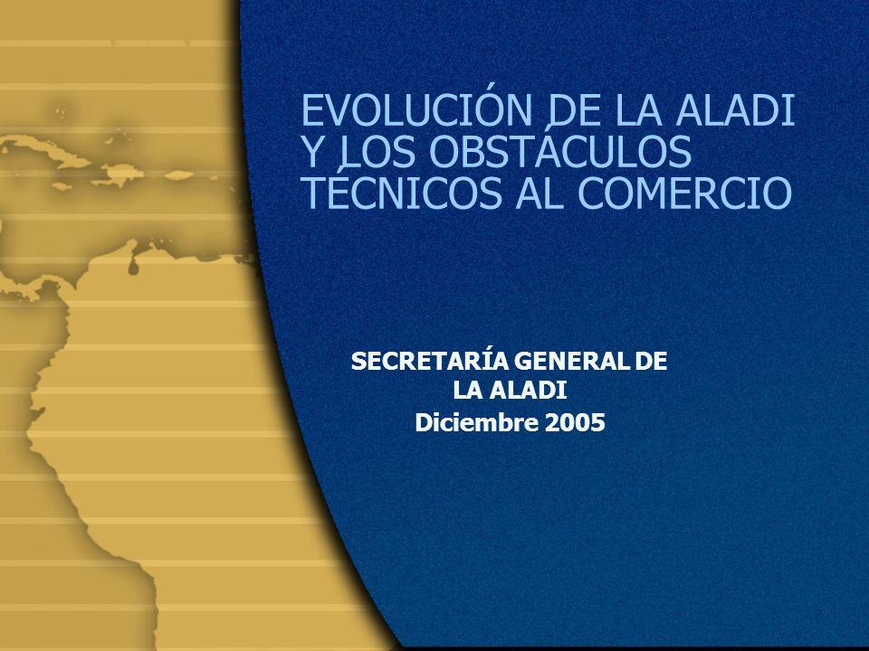 2 Antecedentes La ALADI está constituida por 12 países: Fundadores (Argentina, Bolivia, Brasil, Colombia, Chile, Cuba, Ecuador, México, Paraguay, Perú, Uruguay y Venezuela).